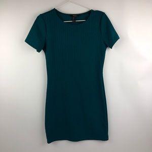 FOREVER 21 short sleeve Bodycon dress LARGE
